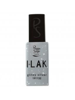 I-LAK Glitzy Silver 11ml Peggy Sage