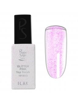 New Top finish Glitter Pink I-LAK - 11ml Peggy Sage