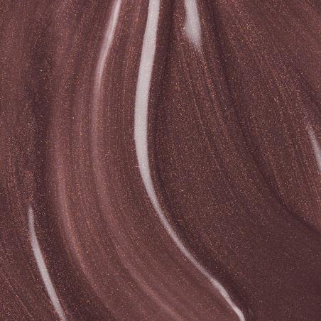 Vernis semi-permanent Andreia - THE GEL POLISH - Brownie irisé