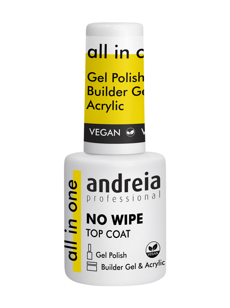 Top Coat  Gel & Acrylic Sans Résidu All in one Andreia
