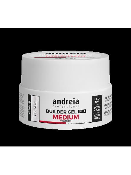 Gel 3 en 1 Moyenne viscosité soft white 22g Andreia