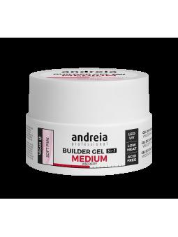Gel 3 en 1 Moyenne viscosité soft pink 22g Andreia