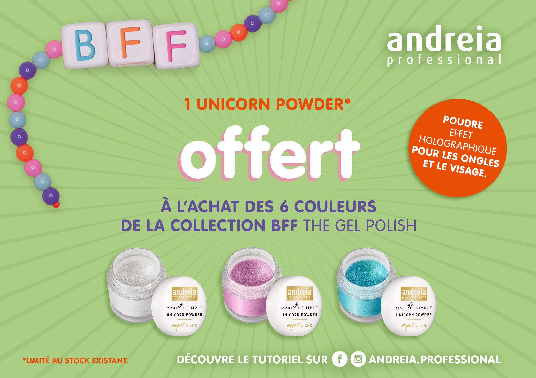 promo unicorn powder